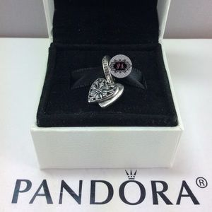 New Pandora Heart Of Winter Charm 706372CZ